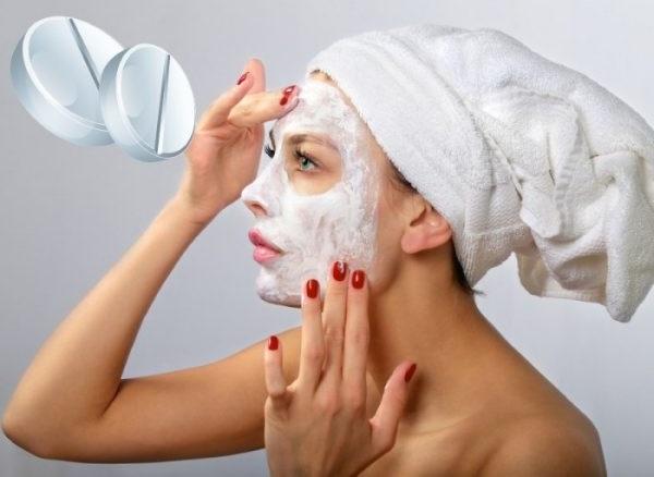 Аспіринові маски зроблять шкіру пружною