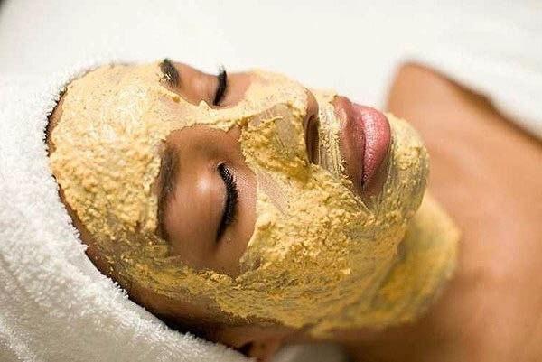 маска для обличчя з жовтка