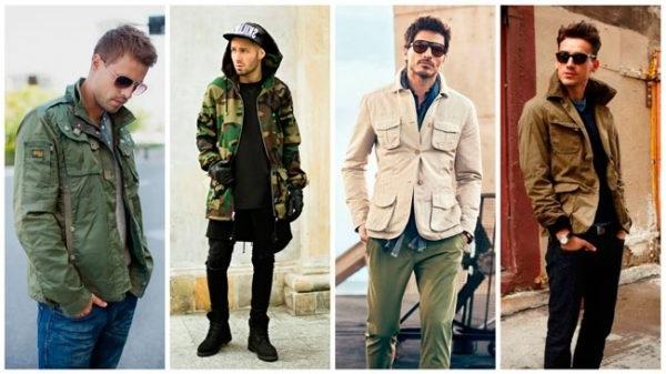 Колір хакі в одягу чоловіків