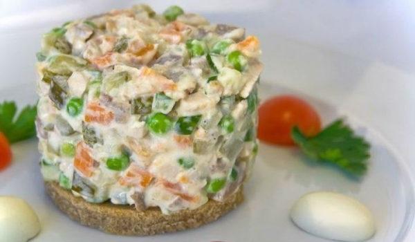 рецепт салату олів'є