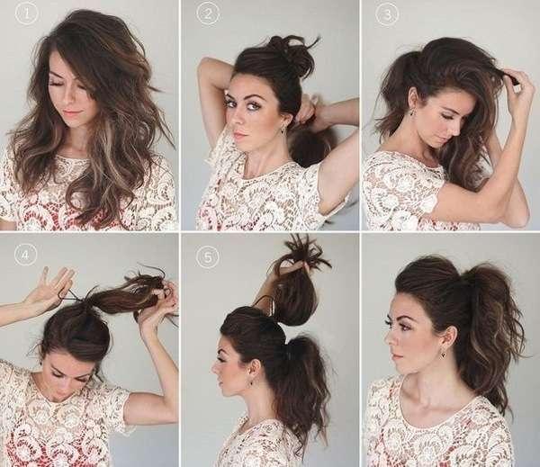 гарні зачіски на довге волосся
