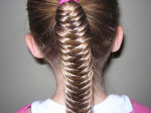 дитячі зачіски на випускний фото