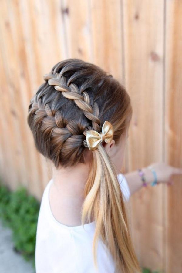зачіски для дівчаток на випускний