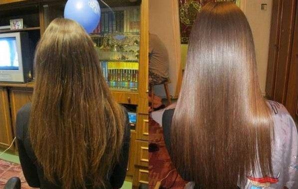 ламінування волосся желатином вдома