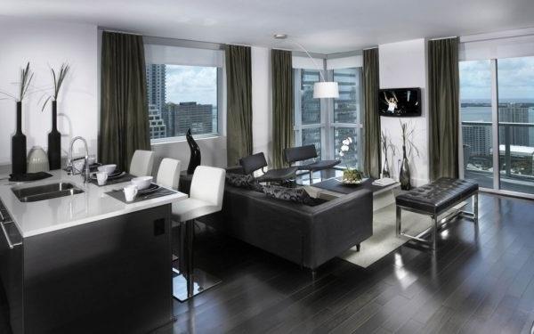 Квартира в стилі хай–тек