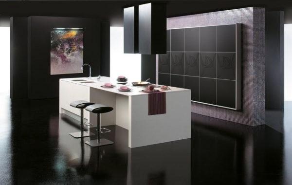 Оформлення кухні в стилі мінімалізм