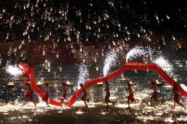 Святкування Нового року в Китаї