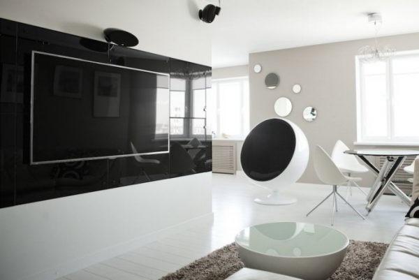 дизайн кімнати в стилі хай тек