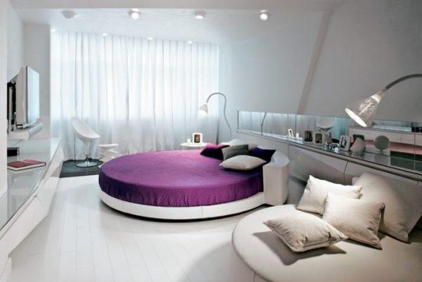 спальня в стилі хай тек