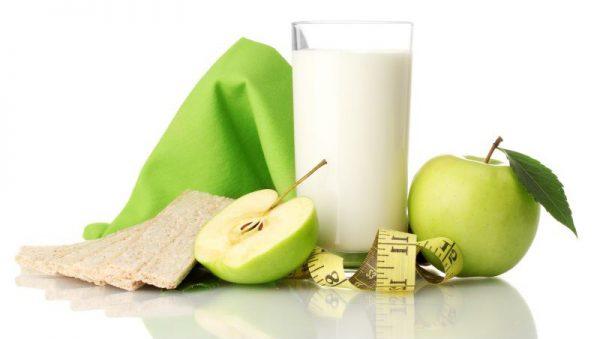 Кефірно–яблучна дієта