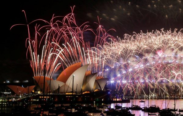 Святкування Нового року в Австралії