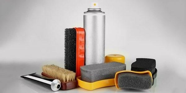 Засоби для очищення замші