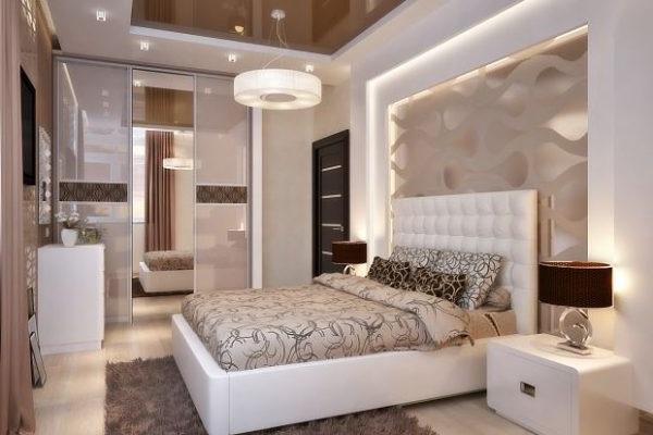 інтер'єр спальні 2018