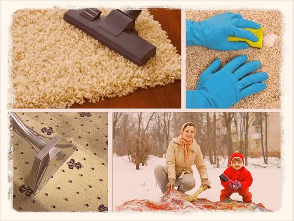 як вивести плями на килимі