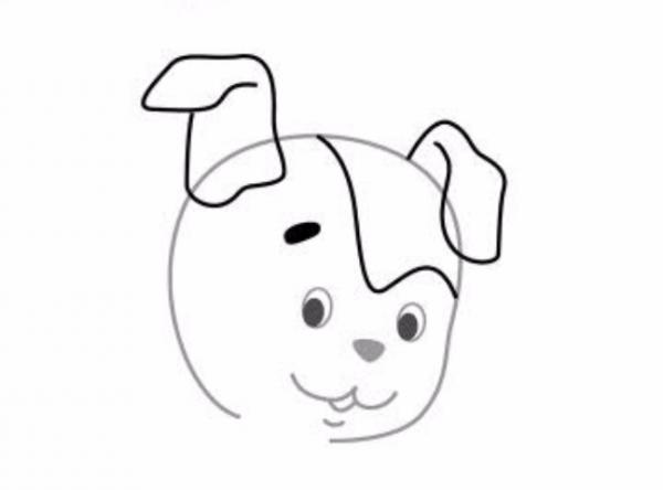 як намалювати песика