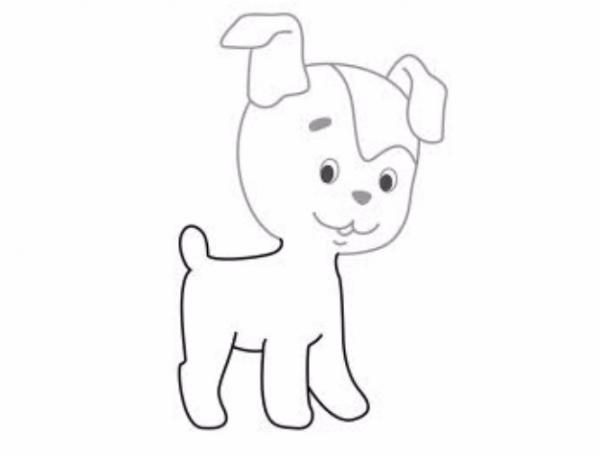 как намалювати собаку