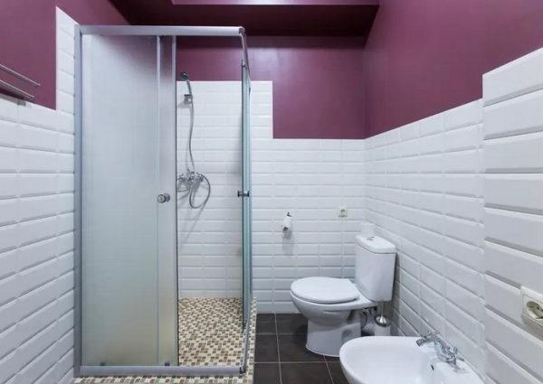 дизайн ванної 3.5 кв.м