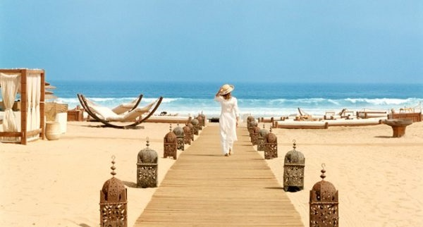 Пляж Марокко