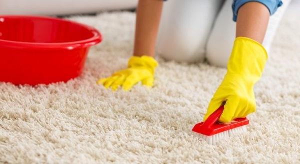 як чистити коври народними методами