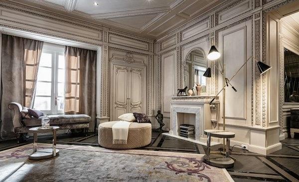 вітальня в класичному стилі фото
