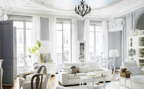 дизайн двокімнатної квартири в класичному стилі
