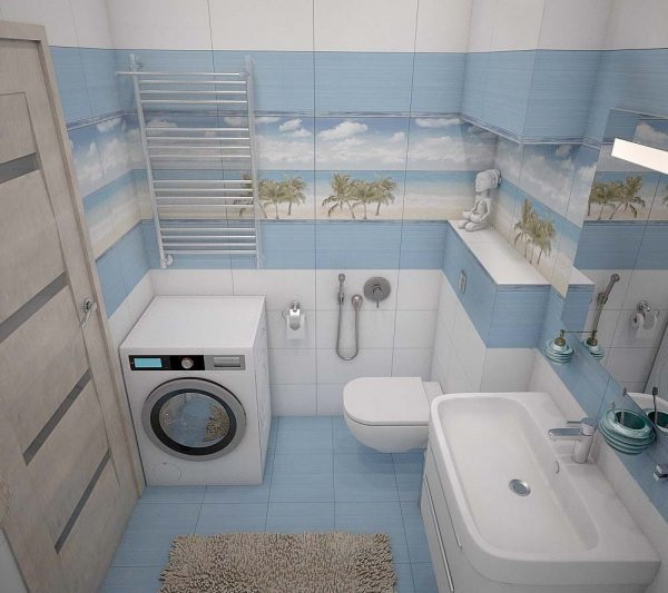 дизайн ванної 3 кв метра
