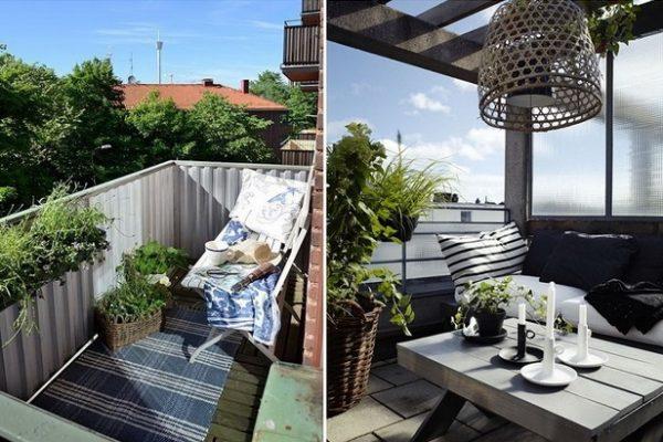 ідеї для балконів