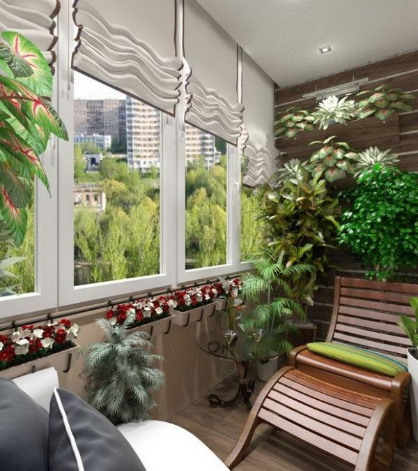 ідеї для оформлення балкону