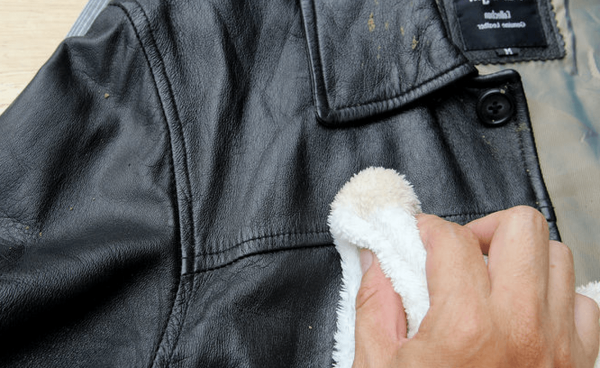 як почистити шкіряну куртку від плісняви