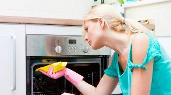 як відмити духовку