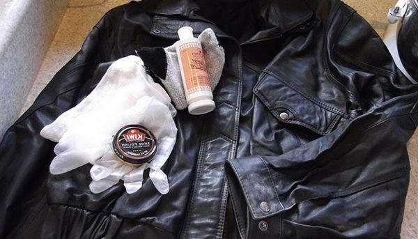 як відновити шкіряну куртку