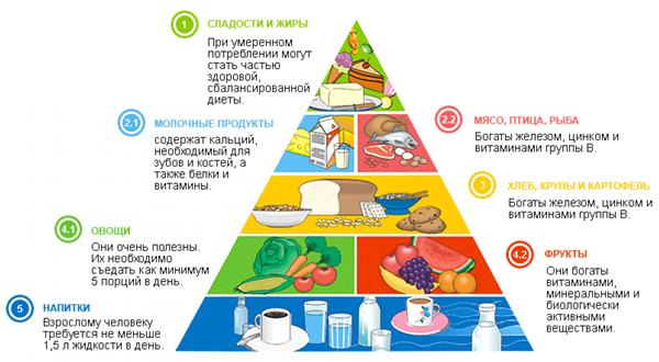меню правильного харчування для схуднення
