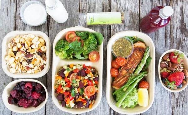 збалансоване харчування меню на тиждень