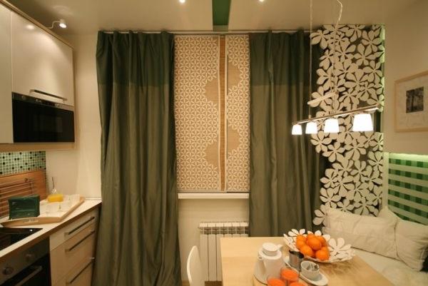 штори на кухню дизайн