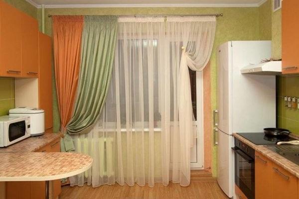 штори на кухню фото сучасні