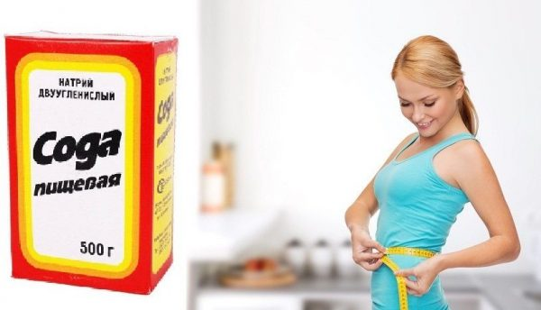 як похудати за допомогою соди