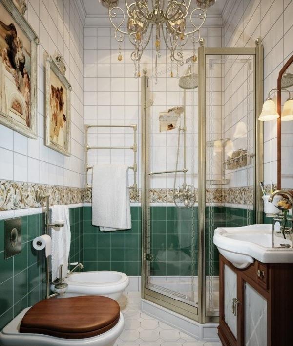 ремонт маленької ванної кімнати з душовою кабіною