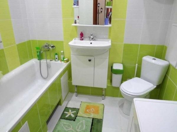 дизайн ванної кімнати 3 кв.м