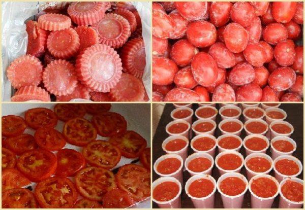 Способи заморозки томатів