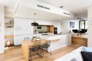 дизайн кухні вітальні