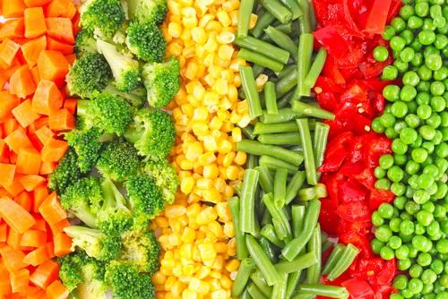 Як заморозити овочі на зиму