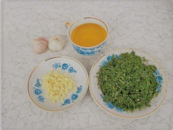 салати на зиму з баклажанів