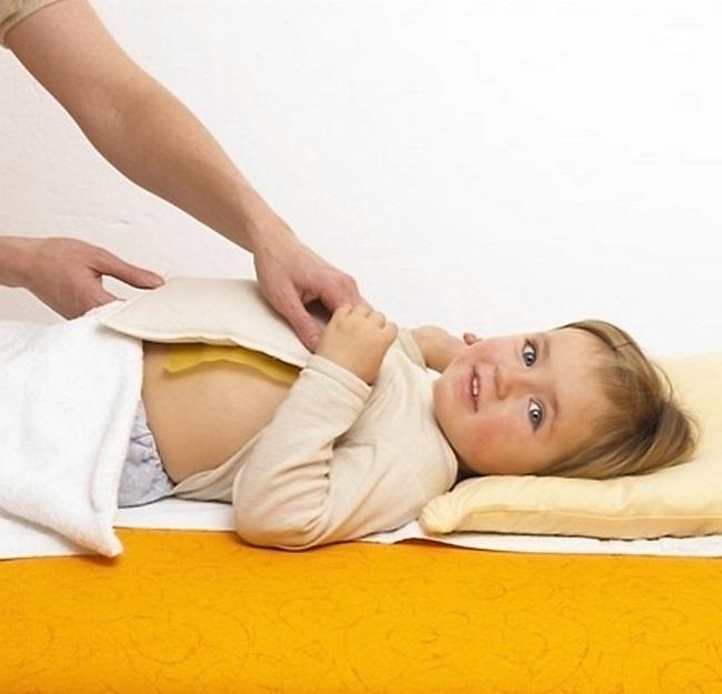 Як поставити компрес дитині