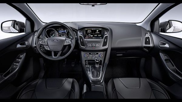 Панель приладів нового Форд Фокус 4 2018