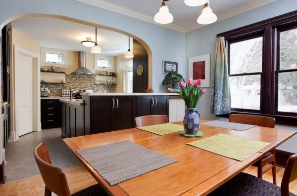 як відділити кухню від вітальні