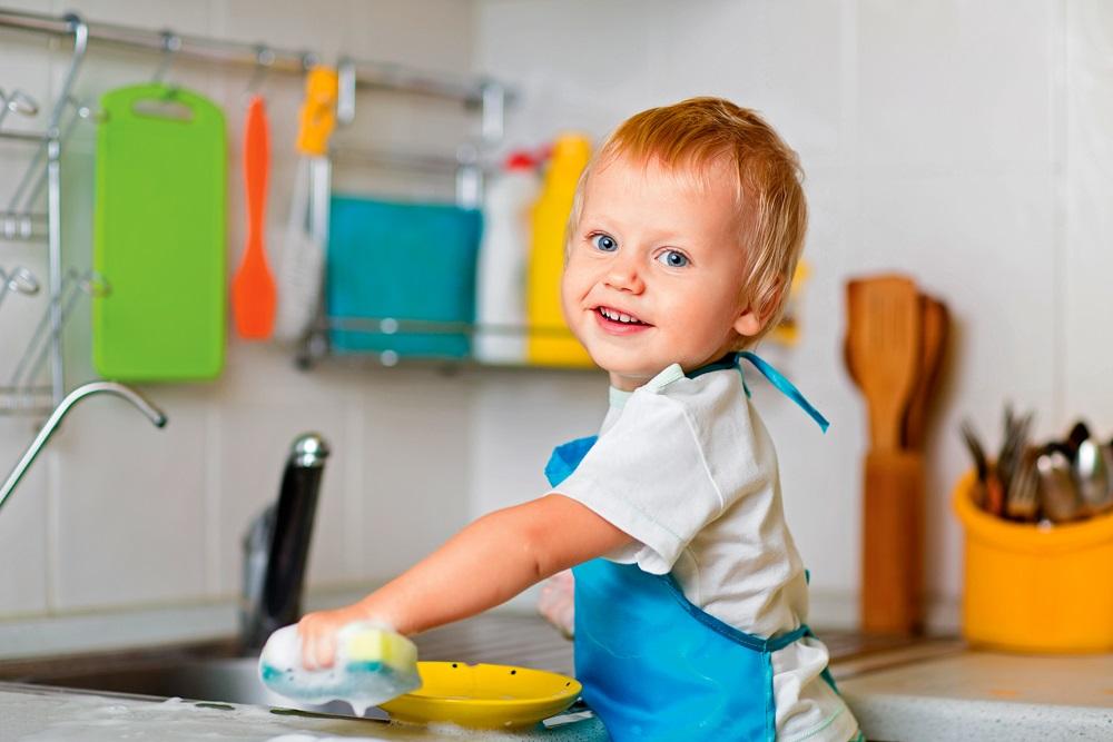 як привчити дитину до порядку і самостійності