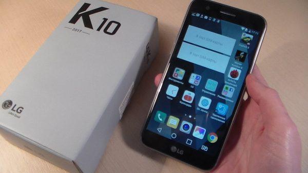 LG K10 M250