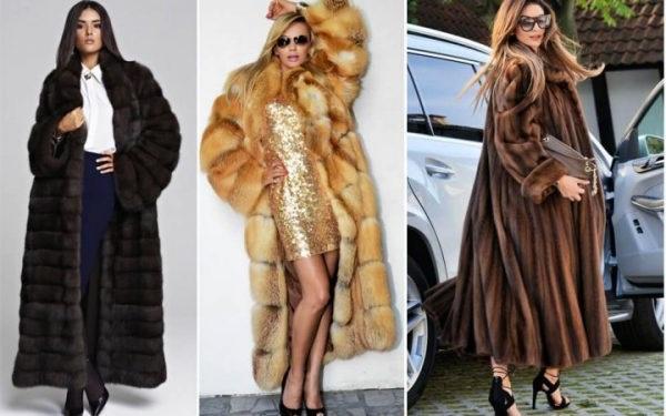 модні шуби 2019