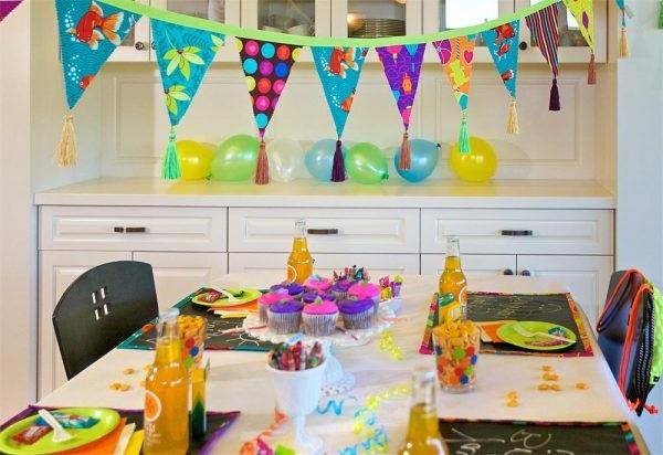 прикраси до дитячого дня народження
