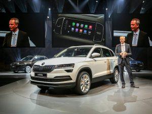 Презентація нової моделі авто Шкода Карок 2018